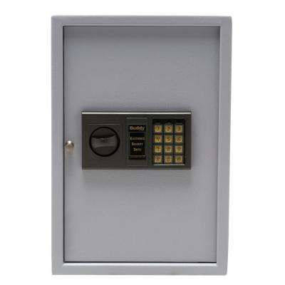 48-Key Electronic Cabinet Safe in Grey