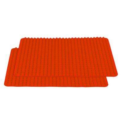 Healthy Homewares Red Silicone Baking Sheet (2-Pack)