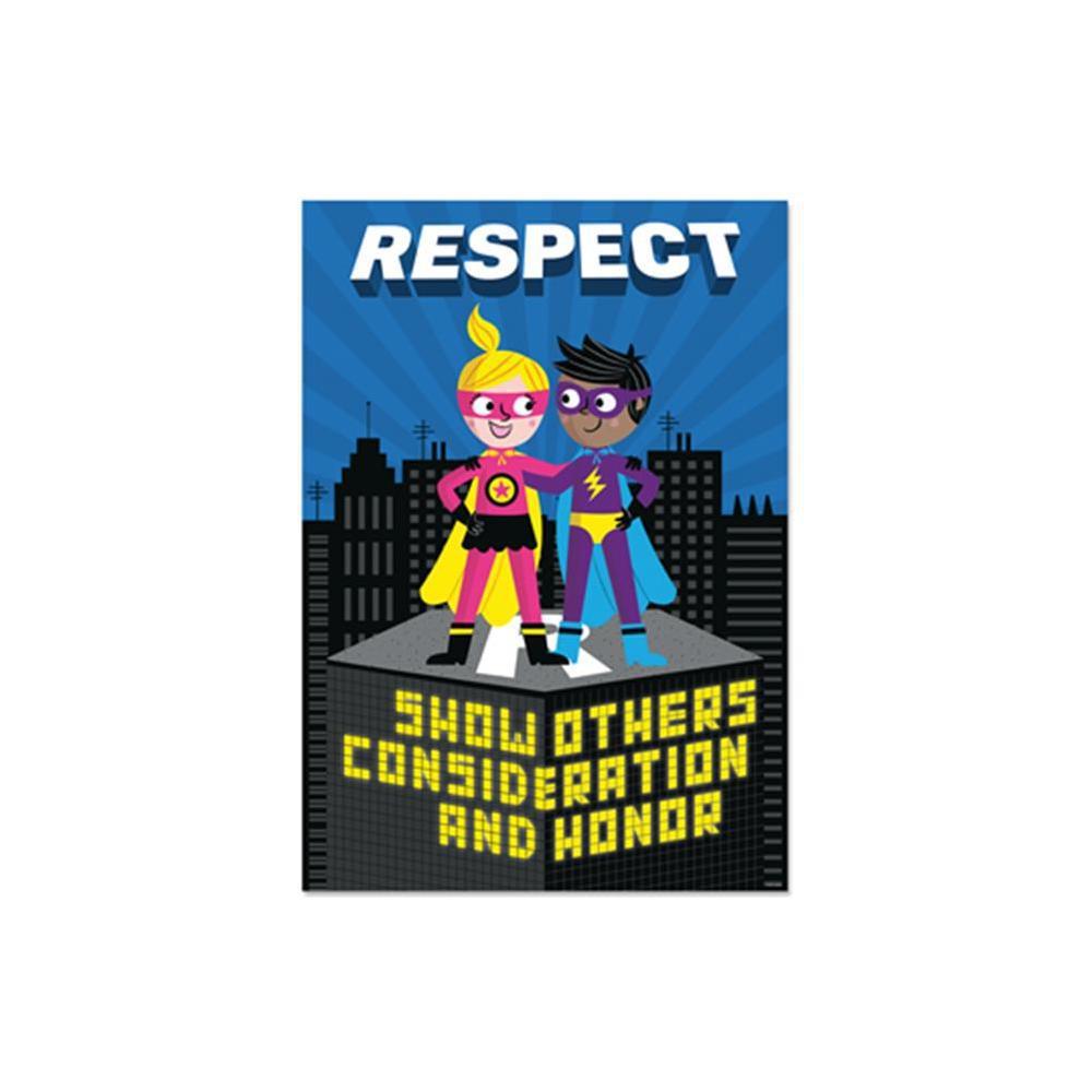 Respect Superhero Inspire U Poster