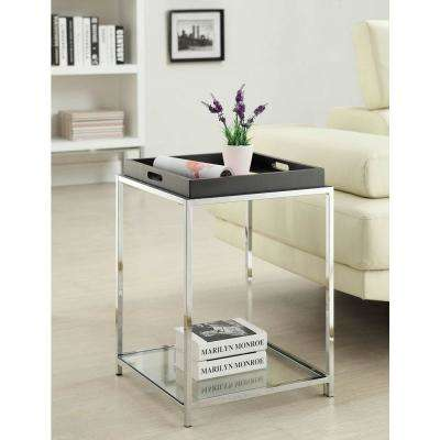 Palm Beach Black End Table