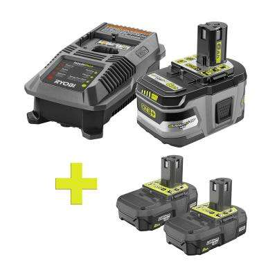 18-Volt ONE+ Lithium-Ion LITHIUM+ HP 6.0 Ah Starter Kitw/ Bonus ONE+ 2.0 Ah Lithium-Ion Compact Battery (2-Pack)