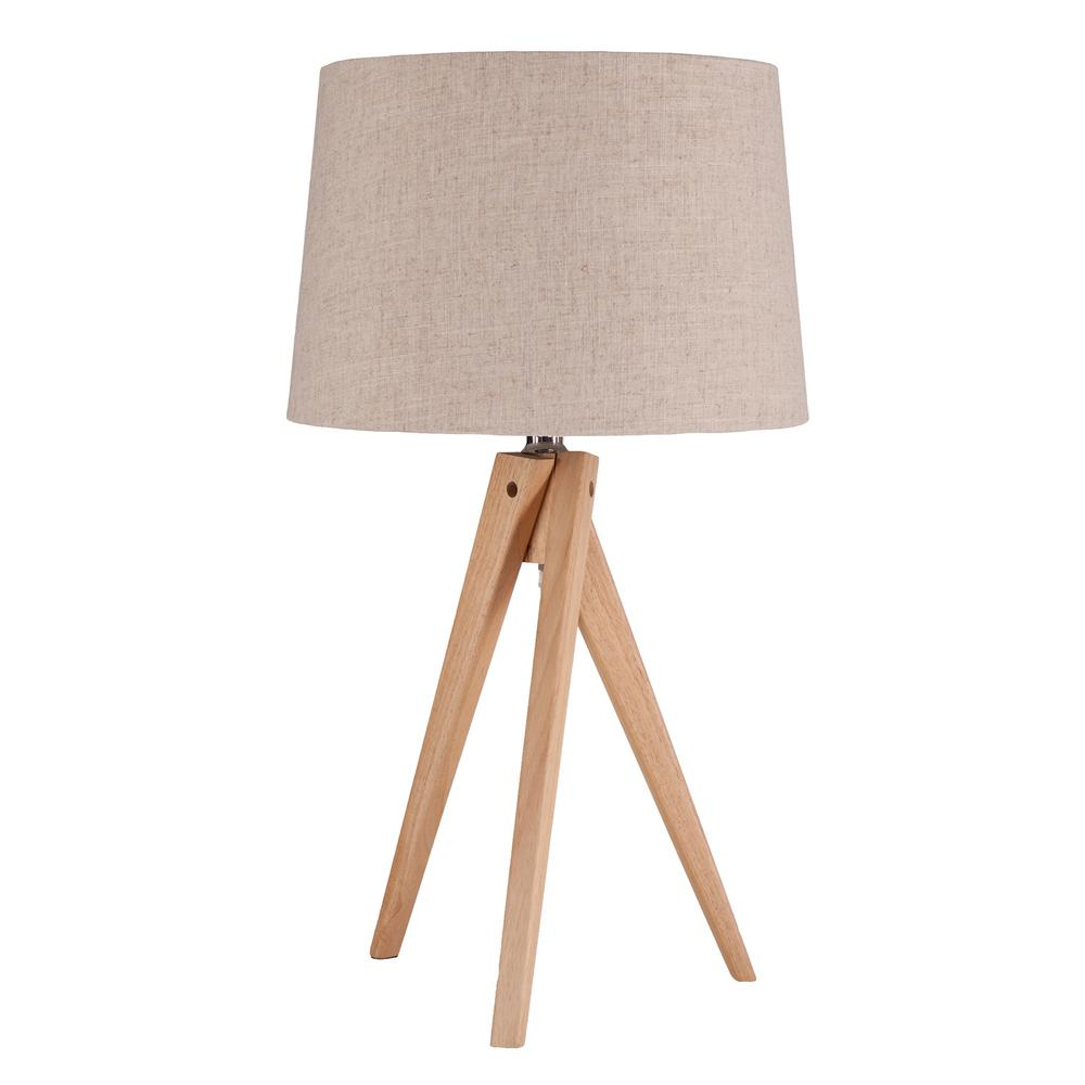 Tucker 26 in bamboo finish table lamp hd88425 the home depot bamboo finish table lamp aloadofball Image collections