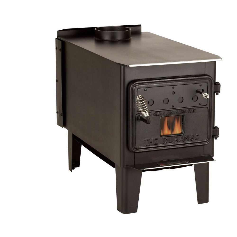 500 sq. ft. Wood-Burning Stove with Blower-TR008 - The Home Depot