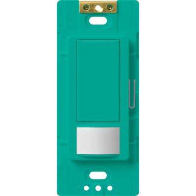 Maestro Motion Sensor switch, 5-Amp, Single-Pole or Multi-Location, Turquoise