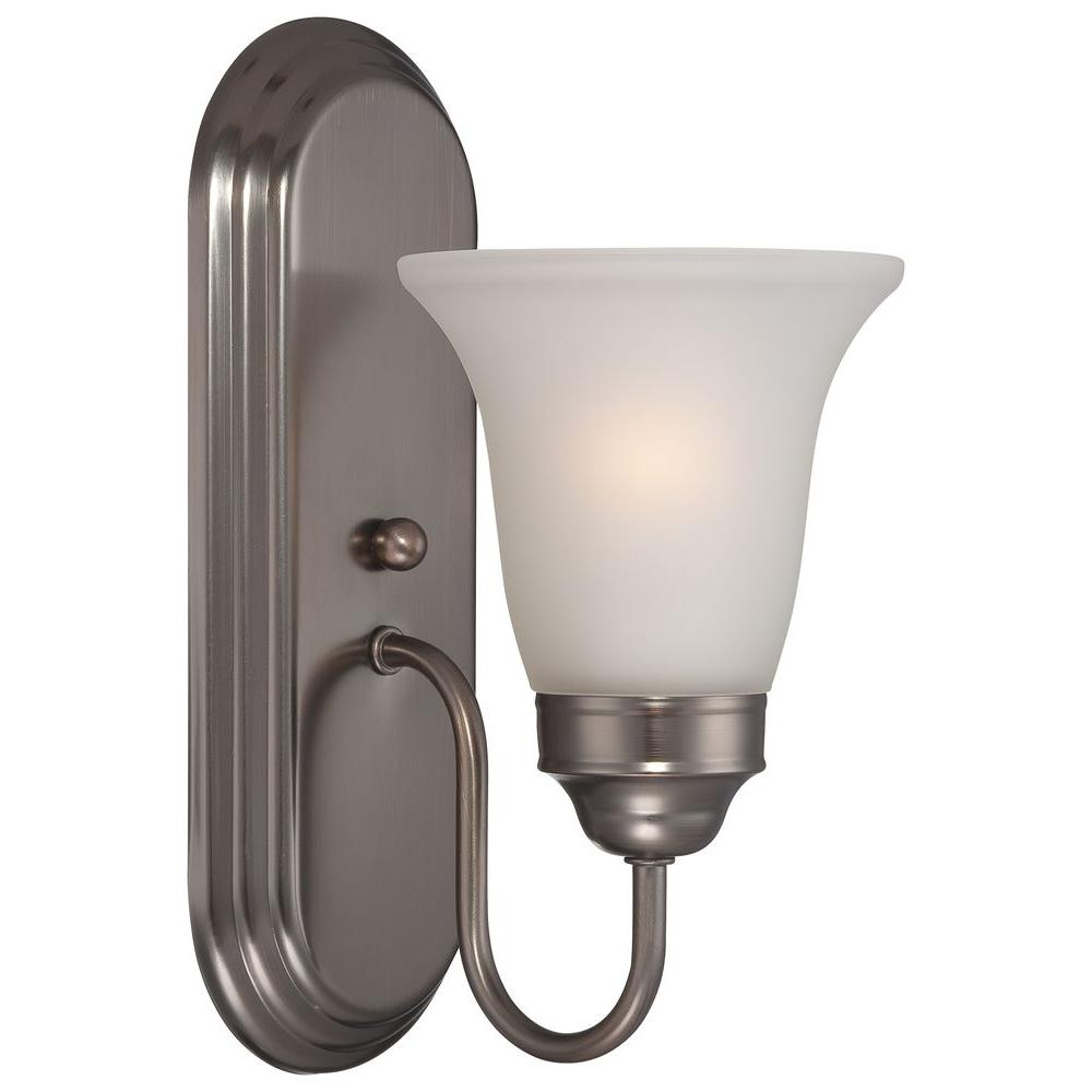 Thomas Lighting Homestead 1-Light Oiled Bronze Wall Sconce-DISCONTINUED