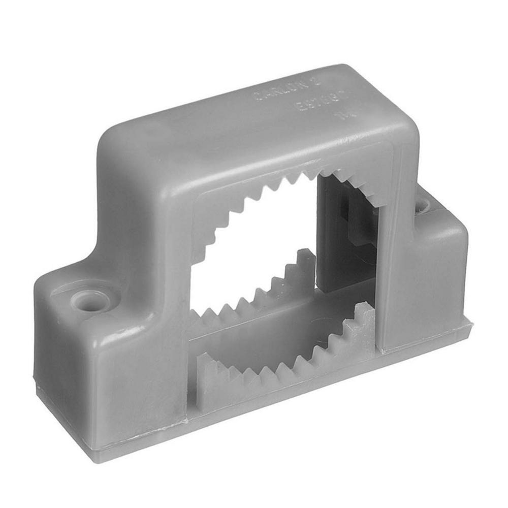 Carlon 1-1/4 in. PVC Double-Mount Conduit Support Strap (Case of 10)