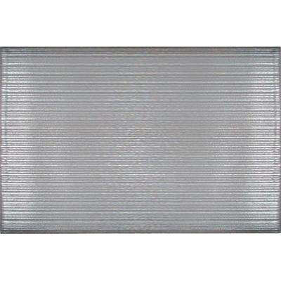 Gray 24 in. x 36 in. Vinyl Foam Commercial Door Mat