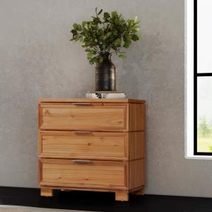 Taxco 3-Drawer Butterscotch Chest