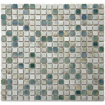 Terrene Minerale 12 in. x 12 in. x 6 mm Porcelain Mesh-Mounted Mosaic Tile (10 sq. ft. / case)