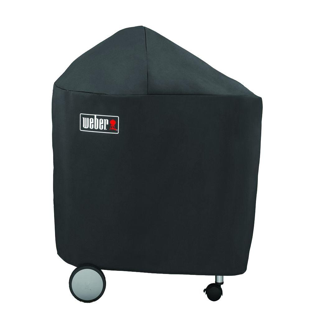 Weber 22 in. Performer Charcoal Grill Cover,  Black