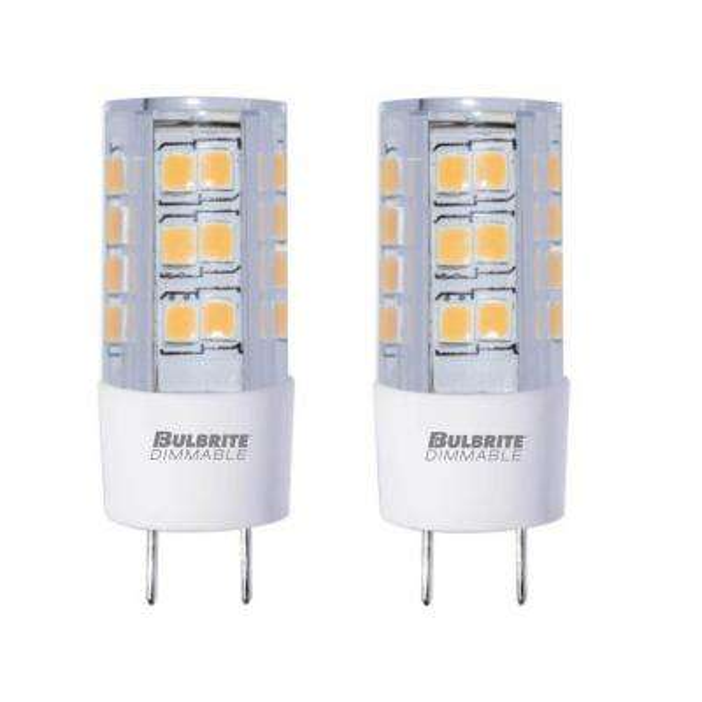 35-Watt Equivalent T4 Dimmable Bi-Pin (GY8) LED Light Bulb Warm White Light (2-Pack)