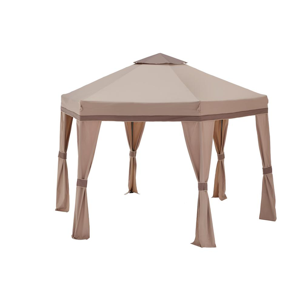 Hampton Bay 10 Ft X Arrow Gazebo GGHL00019