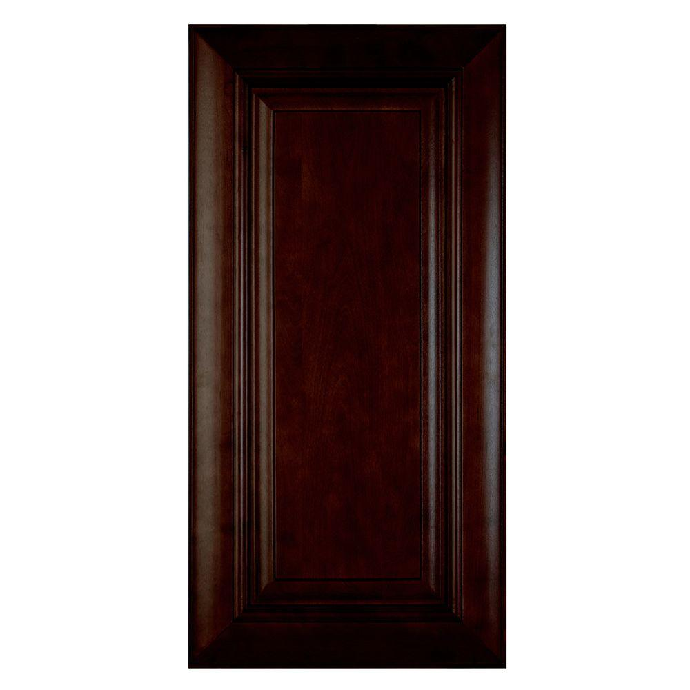 Home Decorators Collection Roxbury Assembled 24 x 34.5 x .75 in. Roxbury Matching Base End Panel in Manganite Glaze