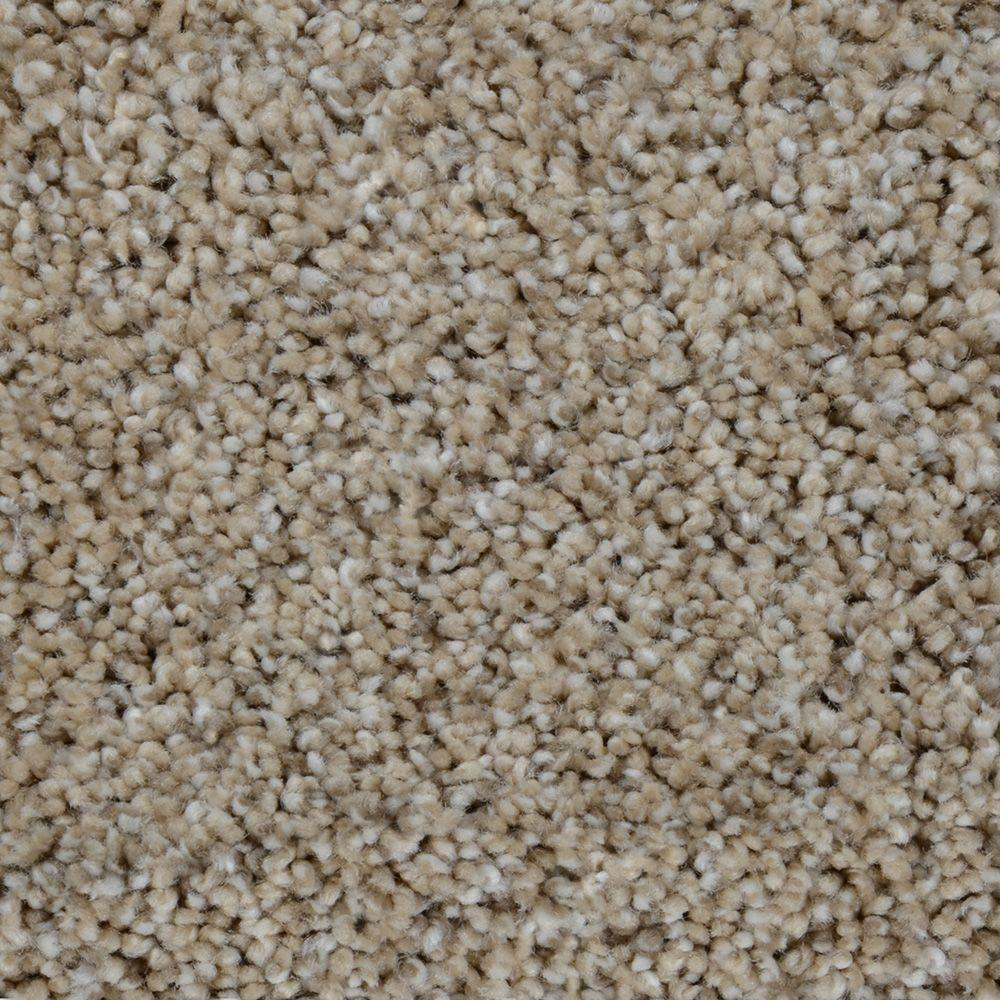 Trendy Threads I Color Seaside Texture 12 Ft Carpet