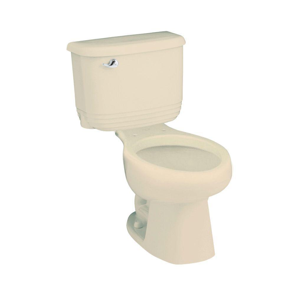 STERLING Riverton 2-Piece Elongated Toilet in Almond