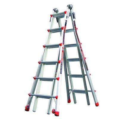 Revolution 26 ft. Aluminum Multi-Position Ladder with 300 lb. Load Capacity Type IA Duty Rating