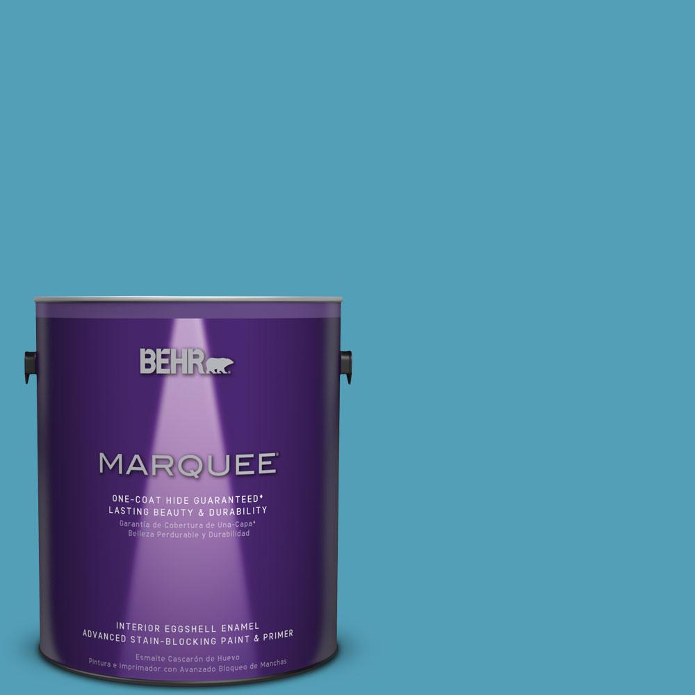 1 gal. #M480-5 Eskimo One-Coat Hide Eggshell Enamel Interior Paint