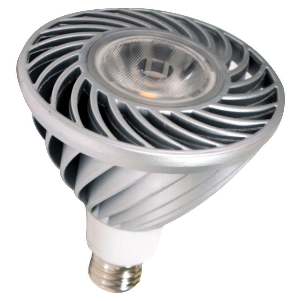 18W Equivalent Soft White (3000K) PAR38 LED Flood Light Bulb