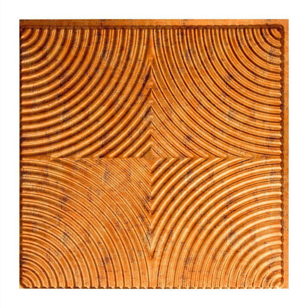 Echo - 2 ft. x 2 ft. Glue-up Ceiling Tile in