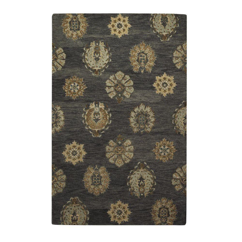 Home decorators collection elegant grey 8 ft x 11 ft for Home decorators catalog rugs
