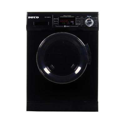 1.57 cu. ft. Black High -Efficiency Vented / Ventless Electric All-in-One Washer Dryer Combo