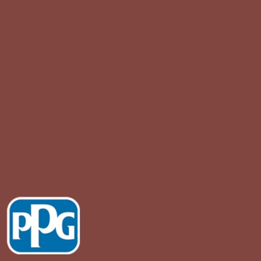 1 gal. #HDPPG1N25 Classic Liberty Red Semi-Gloss Exterior One-Coat Paint with