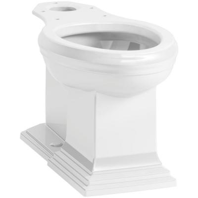 Memoirs Elongated Toilet Bowl Only in White