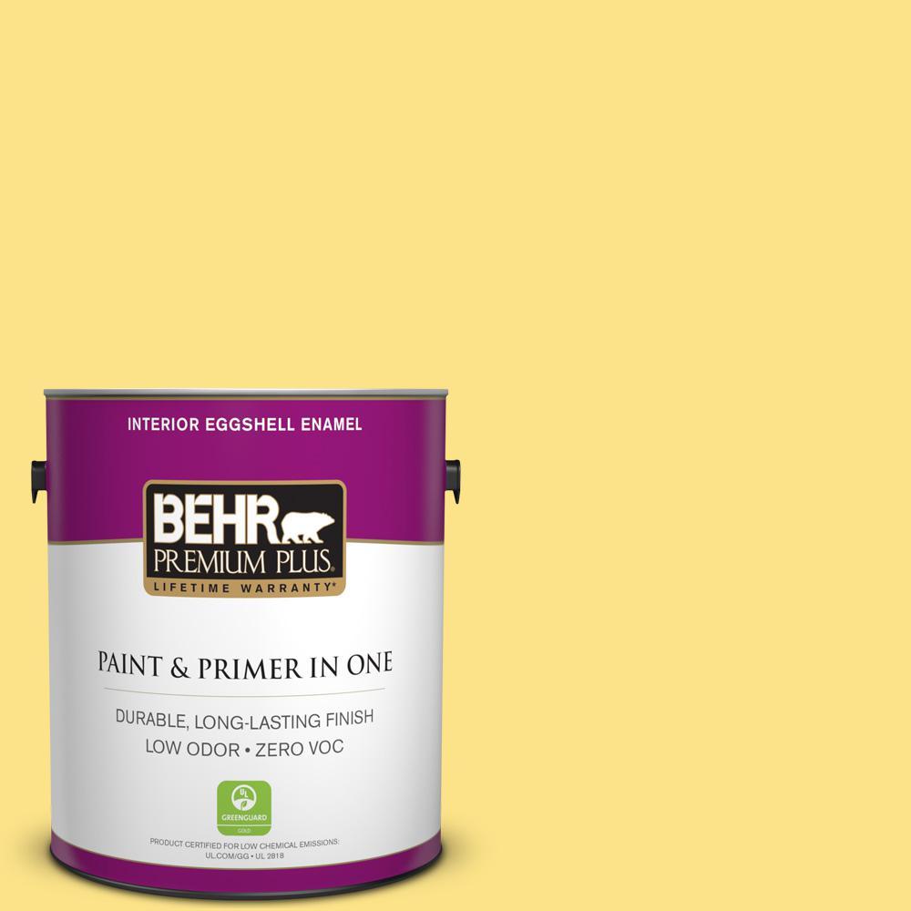 BEHR Premium Plus 1-gal. #P300-5 Upbeat Eggshell Enamel Interior Paint
