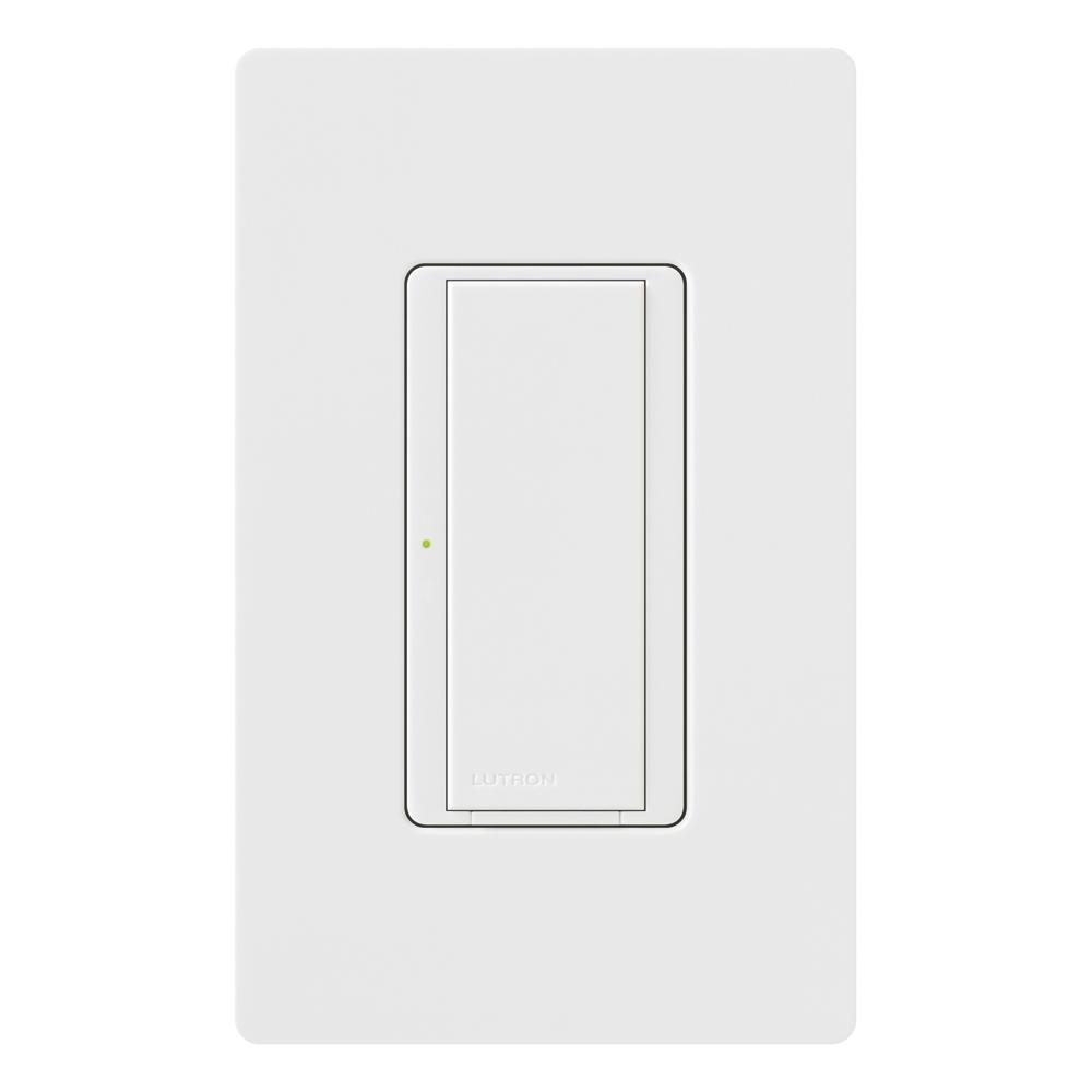 Lutron Maestro 8 Amp Multi-Location Digital Switch- White