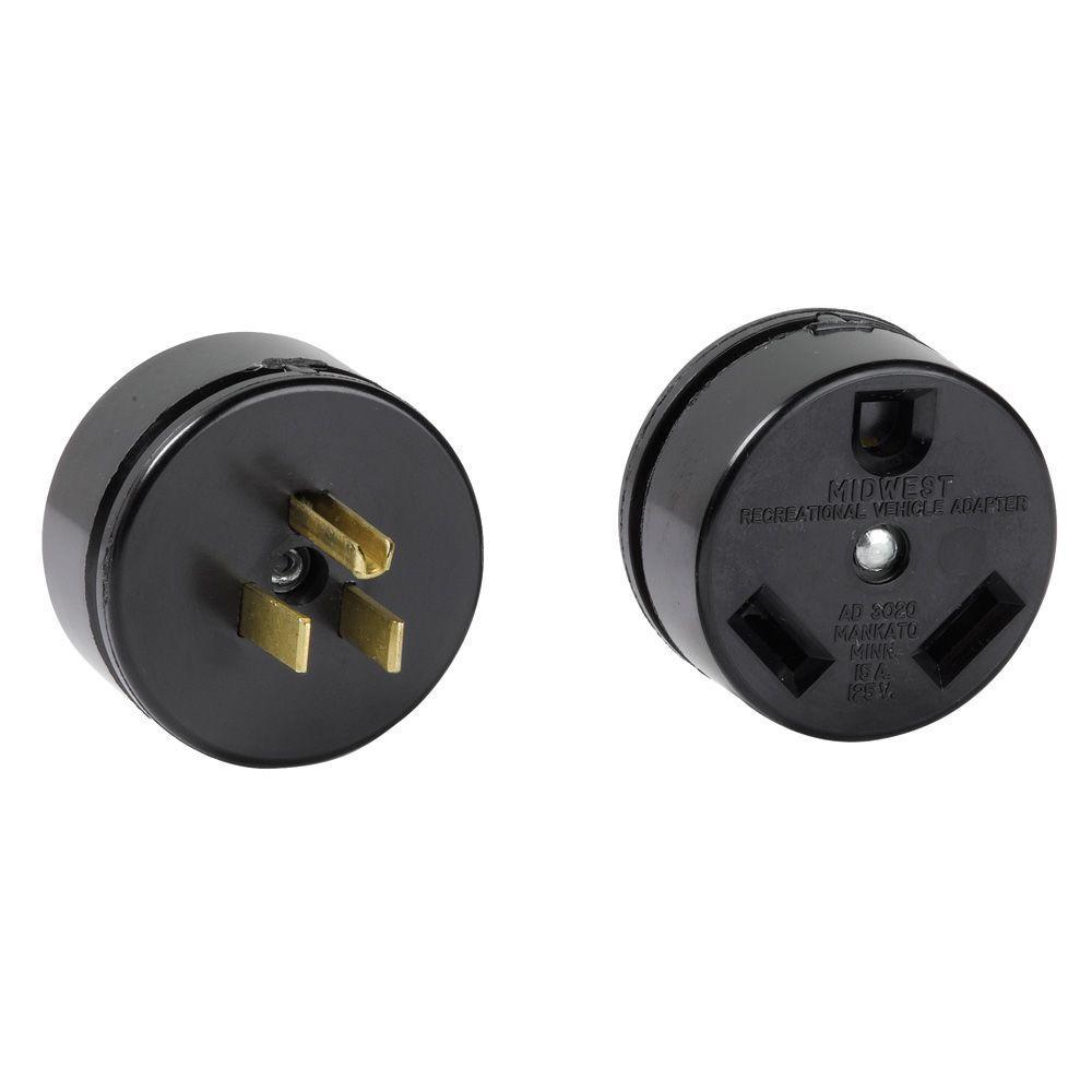 30 Amp to 20 Amp Adapter Plug