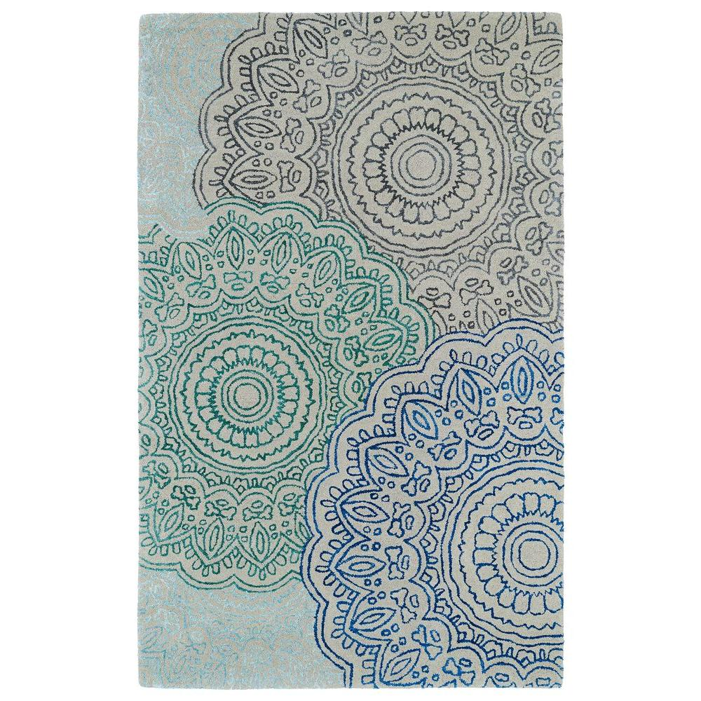 Kaleen Divine Multi 9 ft. 6 in. x 13 ft. Area Rug