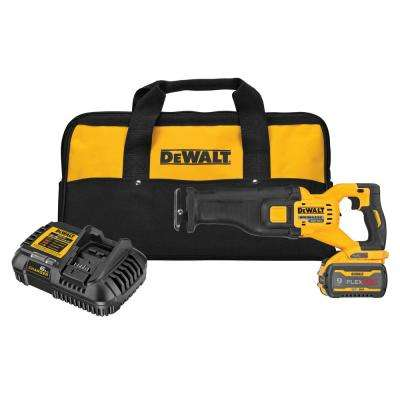 FLEXVOLT 60- Volt MAX Brushless Cordless Reciprocating Saw Kit