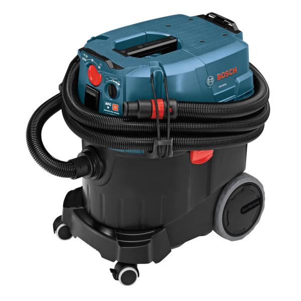 9 Gallon Corded Wet/Dry Dust Extractor Vacuum with Auto Filter Clean and HEPA Filter