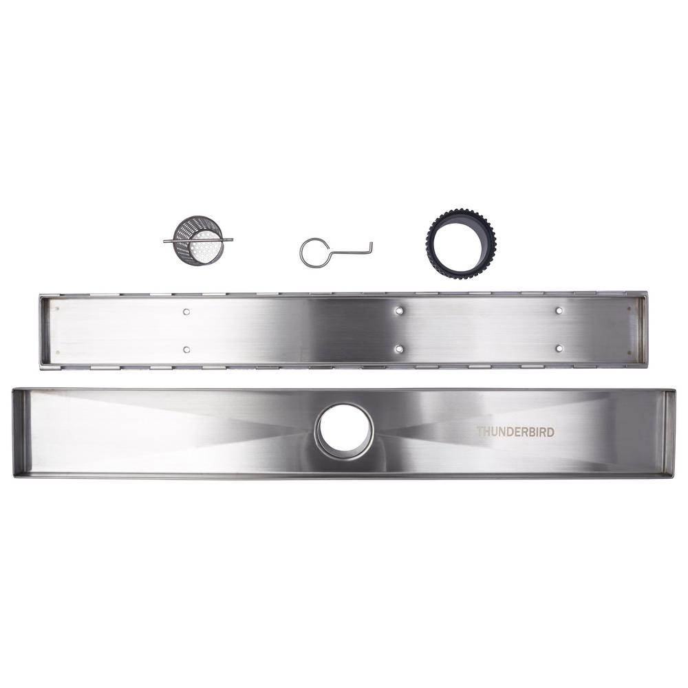 Thunderbird Products Inc 30 In Stainless Steel Linear