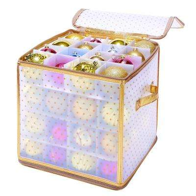 Ornament Organizer in Gold (64-Count)