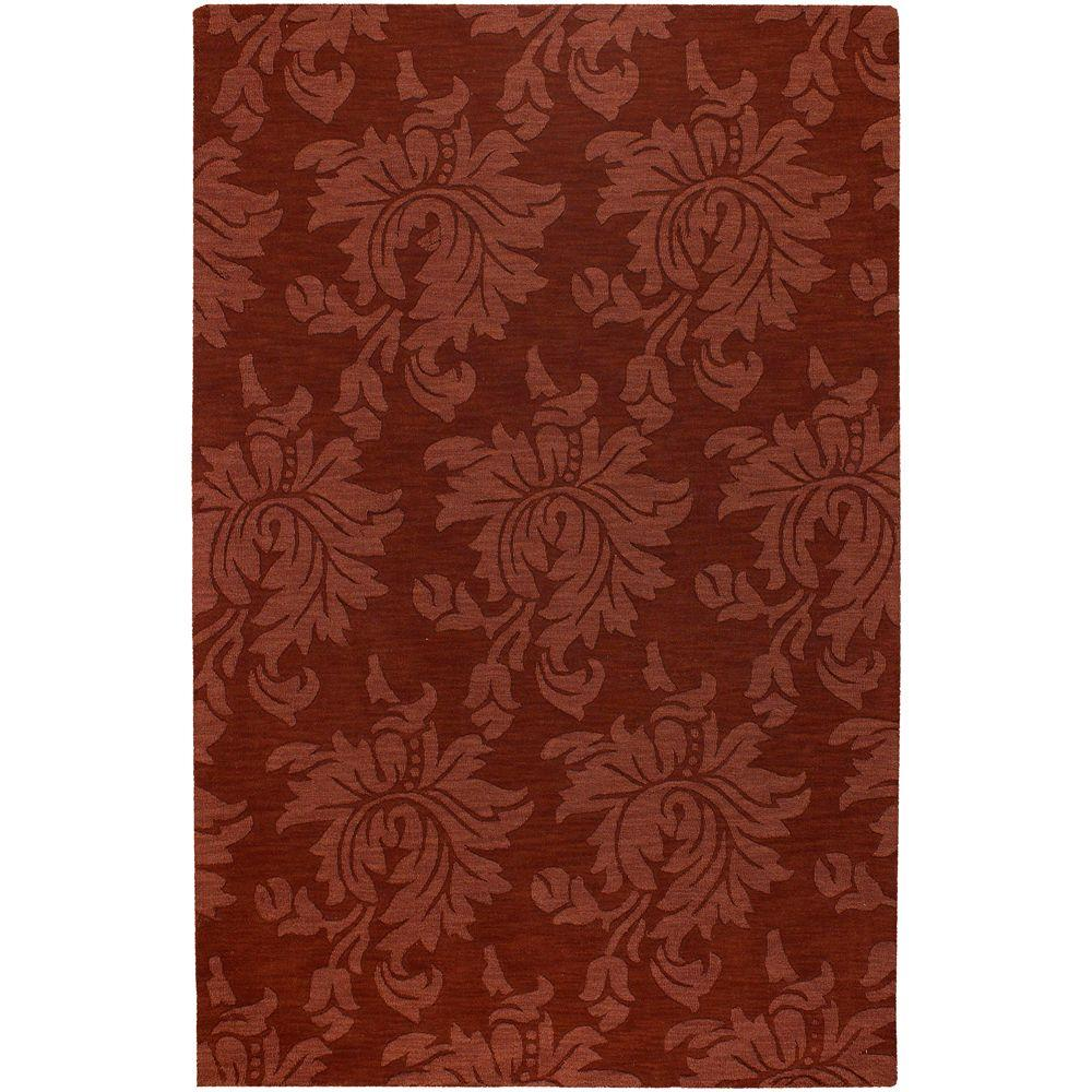 Beth Brick Red 8 ft. x 11 ft. Area Rug