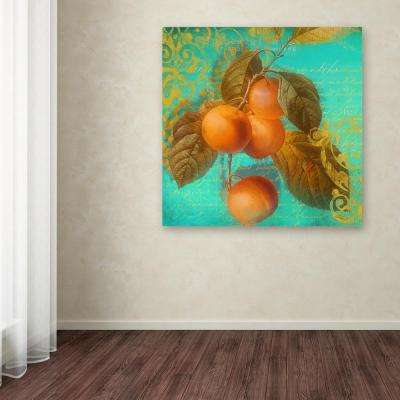 """18 in. x 18 in. """"Glowing Fruits I"""" by Color Bakery Printed Canvas Wall Art"""