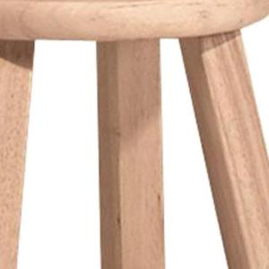Stupendous International Concepts 18 In Unfinished Wood Bar Stool 1S Gmtry Best Dining Table And Chair Ideas Images Gmtryco