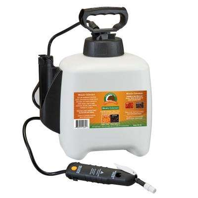1 Gal. Sprayer Pre-Loaded with Brown Bark Mulch Colorant