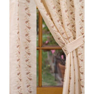 Home Decorators Collection Semi-Opaque Beige Imperial Rod Pocket Panel - in. W x 84 in. L