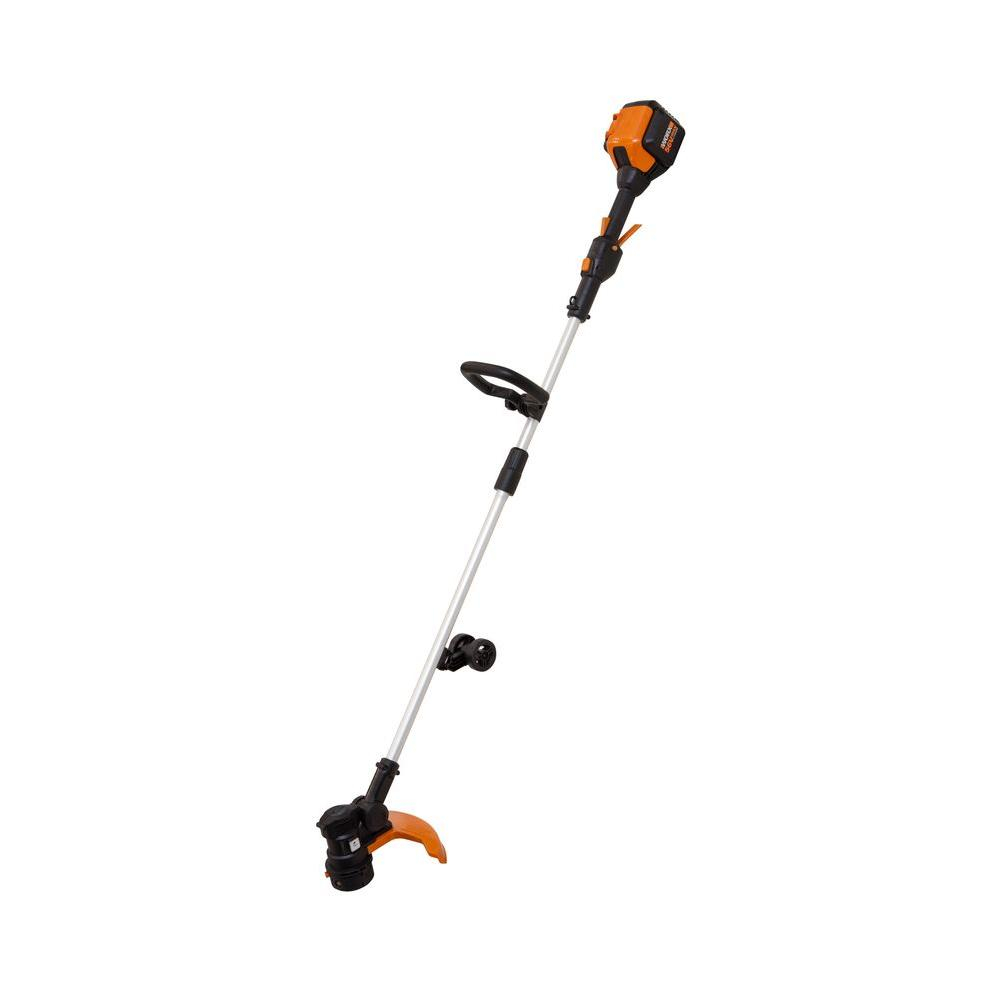 WORX 13 in. 56-Volt Max Lithium-Ion Cordless Grass Trimme...