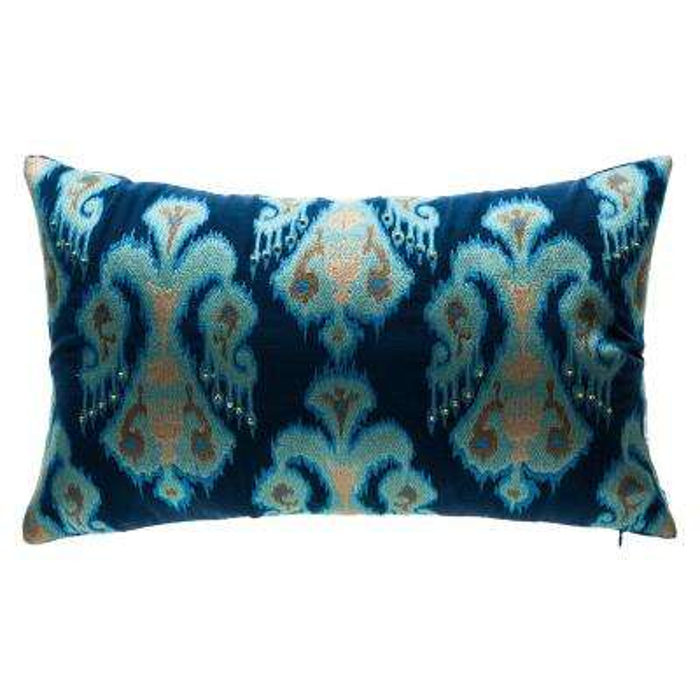 New Carolina Saffron Square Outdoor Throw Pillow
