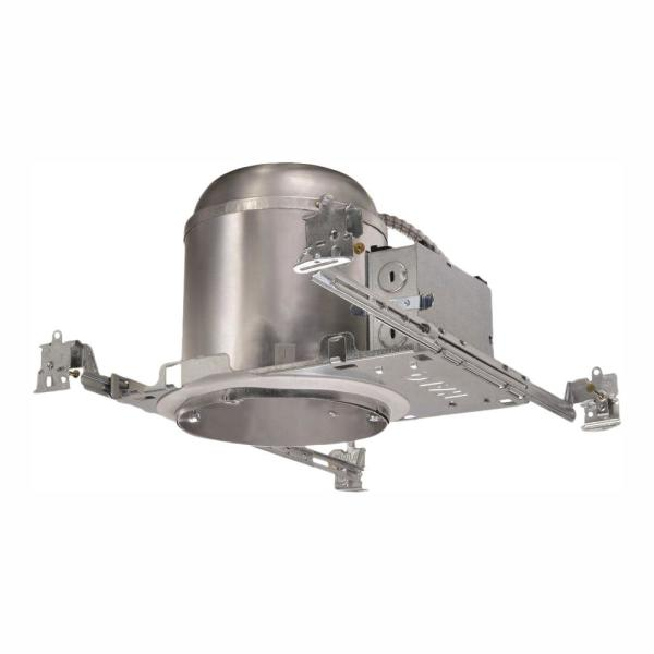 H750 6 in. Aluminum LED Recessed Lighting Housing for New Construction Ceiling, T24, IC Rated, Air-Tite (6-Pack)