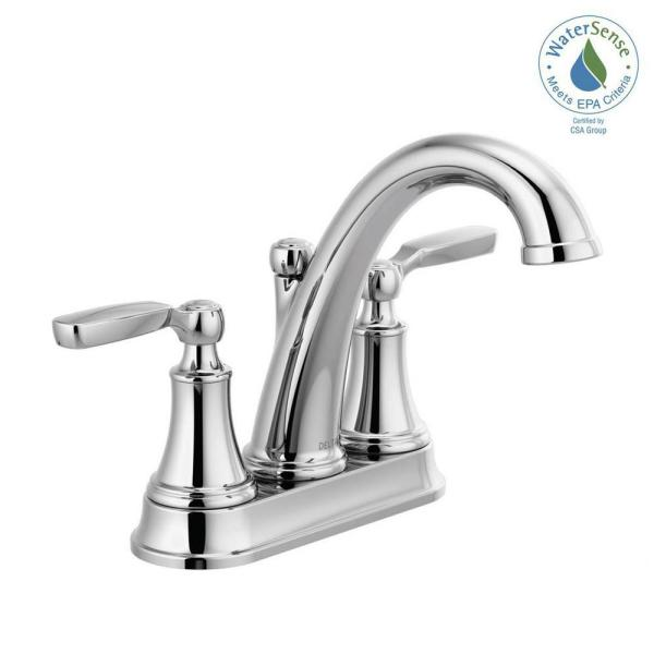 Pfister Weller2 Handle 4 Quot Centerset Bath Faucet In Brushed