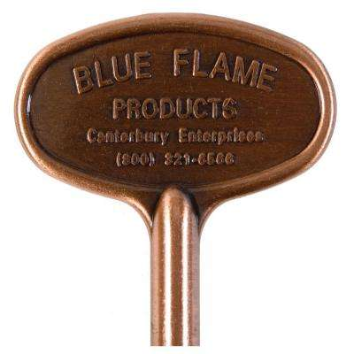 8 in. Universal Gas Valve Key in Antique Copper