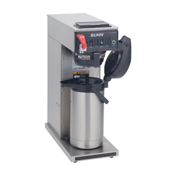 Bunn Commercial Airpot Coffeemaker with Plastic Funnel 23001.0007