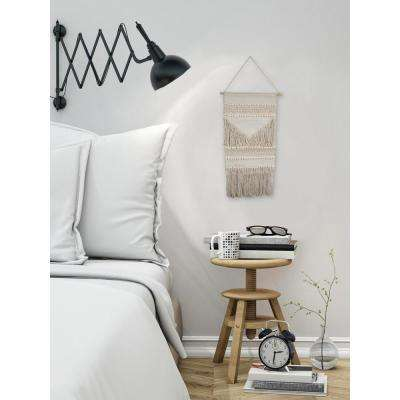 "Beige ""Simple Macrame"" by Marmont Hill Wall Tapestry"