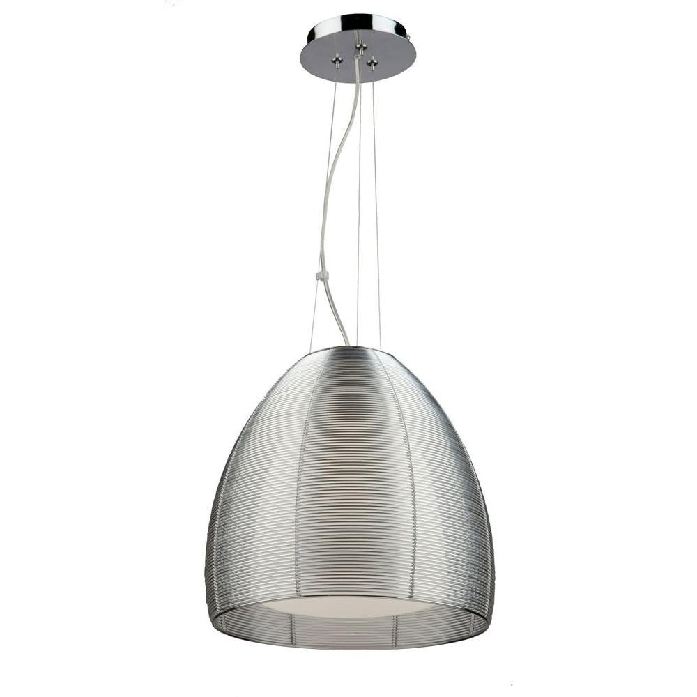 Aoba 1-Light Silver Pendant