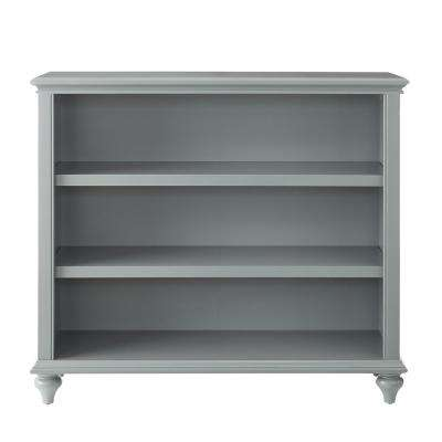 Hamilton 3-Shelf Grey Open Bookcase