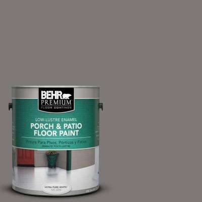 1 gal. #PFC-74 Tarnished Silver Low-Lustre Interior/Exterior Porch and Patio Floor Paint